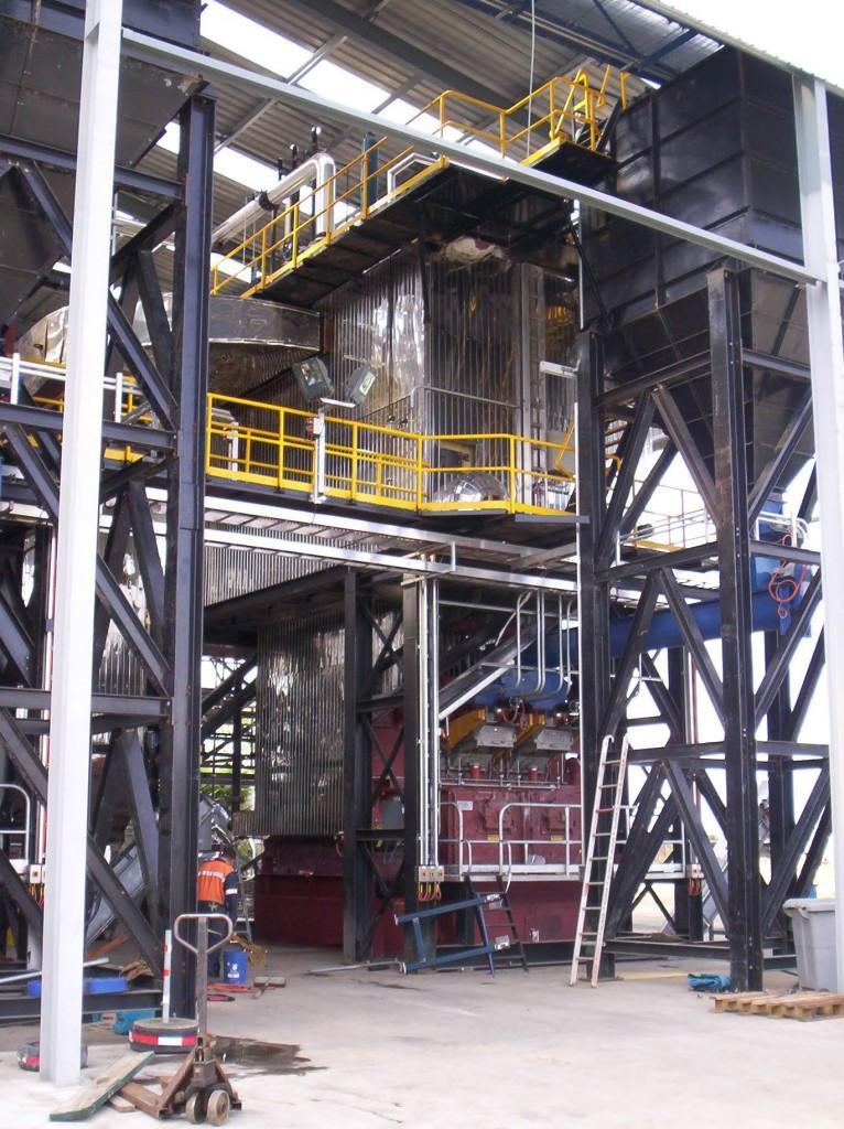 vertical watertube steam boilers