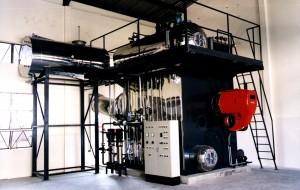 vertical watertube steam boiler