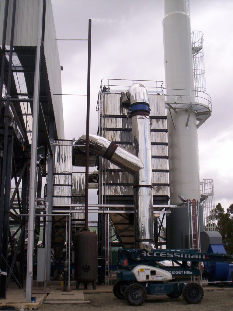 vertical watertube steam boiler