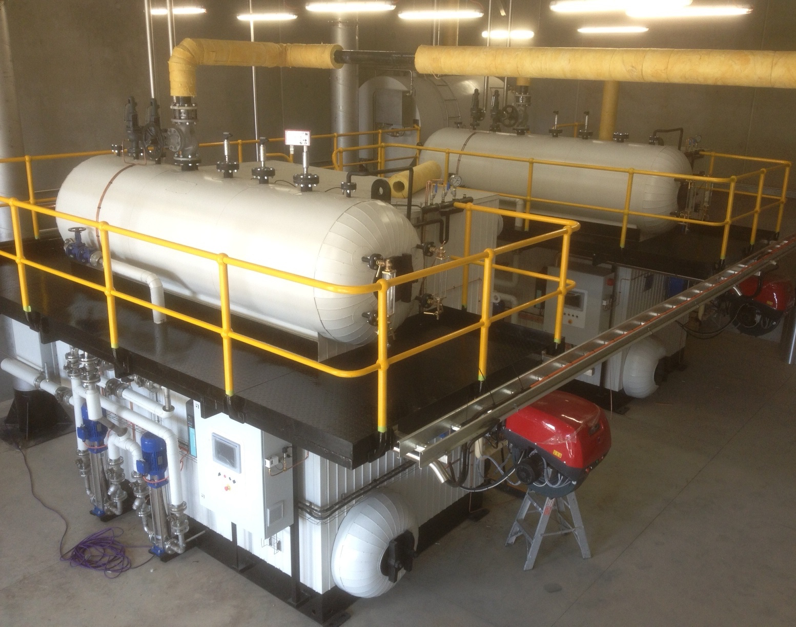 vertical watertube steam boilers